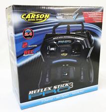 Carson C707122 Reflex Stick 2 Channel RC Transmitter, Receiver & Servo 2.4GHz