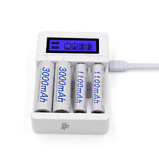USB Battery Charger Charging For AA/ AAA Ni-MH/ Ni-Cd Rechargeable Batteries