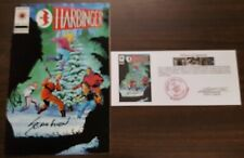Harbinger (1992) #27 signed by Sean Chen with Notarized Witness of Signature