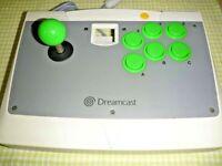 SEGA Dreamcast Arcade Stick HKT-7300 Controller Pad 1998 Vintage Video Game