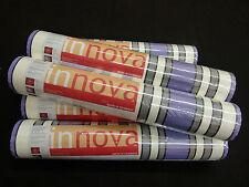 2201-41) 6 Rollen Vliestapeten schicke Streifen Tapeten lila schwarz weiss grau