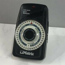 Matrix MR-500 Quartz Metronome and Working! Beautiful Condition