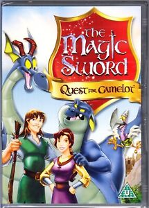 THE MAGIC SWORD QUEST FOR CAMELOT DVD REGION 4 (AUS) NEW & SEALED