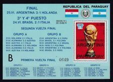 Echte postfrische Briefmarken mit Motiven aus Paraguay