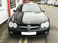 Mercedes R230 SL Sport grille grill 2002 TO 2006 Black AMG STYLE