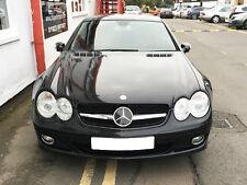 Mercedes R230 SL Single Slat grille grill 2002 ON Black AMG STYLE