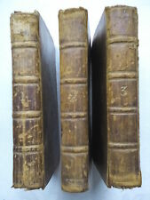 OZELL.THE HISTORY OF DON QUIXOTE DE LA MANCHA.3 VOL OF 4 SET 1749,8TH ED,NEW ILL