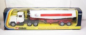 Corgi 1152 Mack Truck ESSO Petrol Tanker In It's Original Box - Excellent 1973