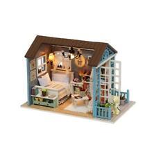 Domybest Handgemachte Puppenhaus Möbel Kit DIY Mini Puppenhaus Holz Spielze