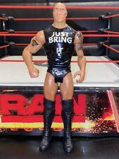 The Rock WWE Wresting ~ Tough Talkers Action Figure ~  Mattel RARE