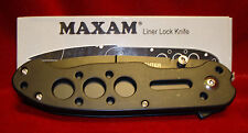 "Maxam SKFIRE - Fire Fighter 4.5"" Folding Knife"