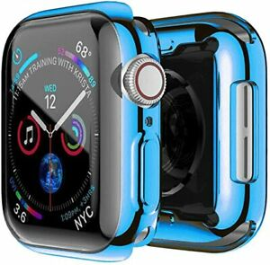 360 Slim Watch Cover for Apple Watch Case Series456 SE 40MM (BLUE)
