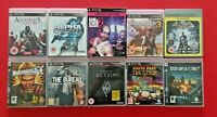 PS3 Bundle of 10 Games Collection Mixed Titles Pal UK Playstation 3 Game Lot 2