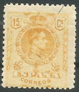 Spain edifil #271 MNH 1909-22