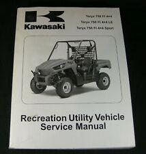 Kawasaki Teryx 750 Service Shop Repair Manual 2010