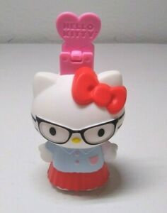 """Hello Kitty Girl 2015 McDonalds Happy Meal Toy #1 PVC Figure and Ruler Holder 3"""""""