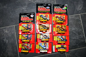 Racing Champions 1/64 NHRA Dragsters Funny Cars 90s new sealed