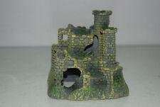 Décorations châteaux en polyrésine pour aquarium, bassin et mare