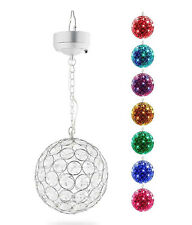 Solar Crystal Ball Light Outdoor Led Gazing Ball Light with Sparkling Lawn Lamp