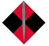 4 RAR COMMANDO LAMINATED VINYL STICKER 95MM HIGH IRAQ AFGHANISTAN