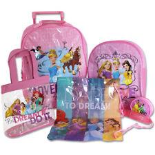 486ac8fda3b9af 5tlg Disney Princess Kinder Trolley Set Schultasche Rucksack Sporttasche  Mädchen