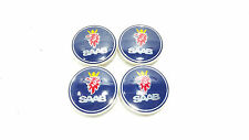 Brand New 4 x SAAB Alloy Wheel Centre Hub Caps Set 63 mm 9-3 9-5 900