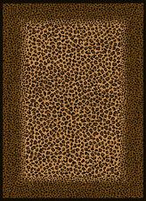 """Exotic Safari Multi Leopard Carpet 5x8 Africa Area Rug : Actual 5' 3"""" x 7' 2"""""""