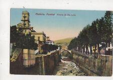 Madeira Funchal Ribeira de Sta Luzia Vintage Postcard 639b