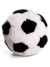 Ethical Pet Spot Plush Soccer Ball | 4.5in Dog Toy with Squeaker - Pack of 3