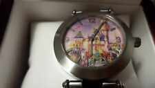 Disneyland 50th Anniversary Mickey Mouse Castle Watch Limited Edition NEW