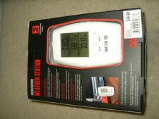 new Smart Gear Indoor Outdoor Weather Station 2 temperature zones wireless 6083