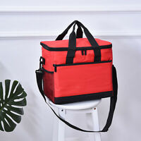 Insulated Lunch Bag Box for Women Men Thermos Cooler Hot Cold Adult Tote Food /