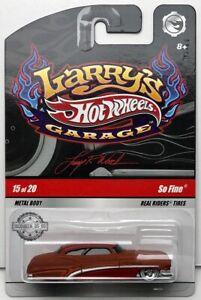HOT WHEELS LARRY'S GARAGE SO FINE #6/20 BROWN W+