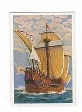"""12/767 sammelbild mondo nelle immagini vecchie navi Columbus caravella """"Santa Maria"""""""