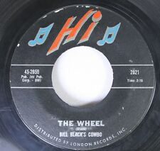 Rock 45 Bill Black'S Combo - The Wheel / White Silver Sands On London Records, I