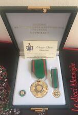 Set da Cav Uff Ordine al Merito della Repubblica Italiana in argento 925