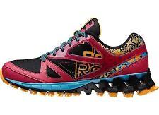 Girls Zigtech Zig Kicks Running Sneakers Black/Pink/Blue  Girls Size 6 1/2