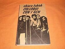 chiara lubich colloqui con  i gen. 1979