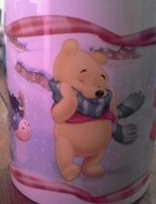 Winnie The Pooh Tigger Eyore Christmas Coffee Mug Cup rare