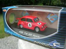 Solido 1/43 Metal Fiat 600 Abarth N° 6 4590