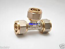 Klemmring, T-Stück 16x16x16  Schraubfitting für Verbundrohr 16x2mm