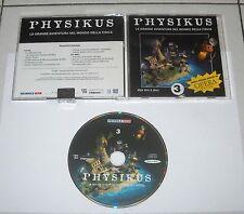 Gioco Pc Cd PHYSIKUS 3 La grande avventura nel mondo della fisica – 2000