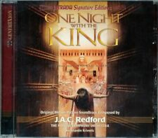 """J.A.C. Redford """"ONE NIGHT WITH THE KING"""" score Intrada CD sold out"""