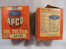 APCO OIL FILTERS (2), AP-105 - NEW