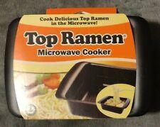 Top Ramen Rapid Microwave Cooker - Ramen in 3 Minutes - Perfect for Dorm