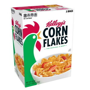 Kellogg's Corn Flakes Breakfast Cereal (43 oz) GREAT DEAL & SERVICE!!