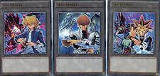 YuGiOh > Yugi, Joey & Kaiba Token / Spielmarken 3er-Set< DEUTSCH LDK2-DET01 UR