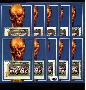 // 10X ST.VINCENT - MNH - SPORTS - SOCCER - WORLD CUP - MEXICO 1986