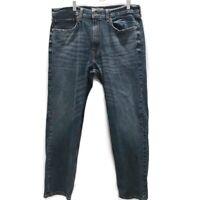 Signature Levis Strauss Mens Sz 36X30 Jeans Dark Wash Regular Straight Stretch