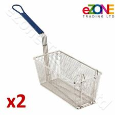 2x Frying Basket P6072145/46 Spare for PITCO Fryers FRIALATOR 35C 45C SG14 SG18